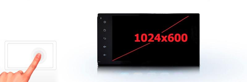 Современный экран гарантирует видимость символов даже в яркий солнечный день Incar AHR-7380