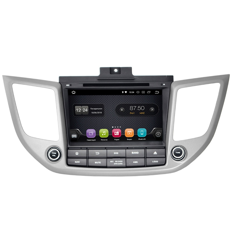 Штатная магнитола Hyundai Tucson 16+ (Android 8.0)